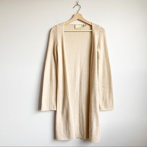 Anthro Guinevere Duster Long Cardigan Sweater XS